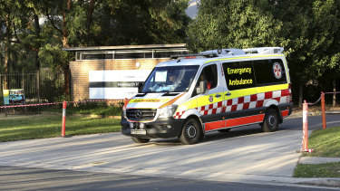 Seventeen residents died from the coronavirus at Newmarch House in western Sydney.