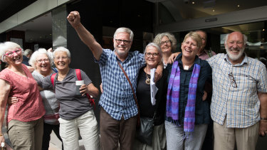 Gloucester residents are jubilant after their win in the Land and Environment Court.