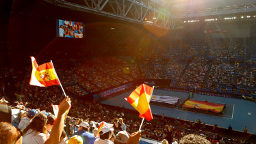 Crowds for the inaugural ATP Cup have been healthy.