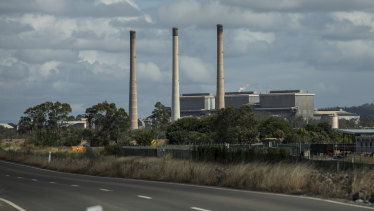 The coalface: Gladstone's NRG coal-fired power station is the largest in Queensland.