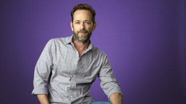 """Shannen Doherty on Luke Perry (pictured): """"It helped all of us in a big way, paying our respects to him."""""""
