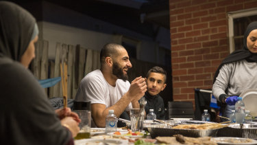 Saad's Muslim faith is central to his life, and happiness. He uses the prayer room at Essendon's training base daily.