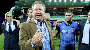 Andrew Forrest is not interested in a leadership role at Rugby Australia.
