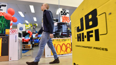 JB Hi-Fi has defied retail industry gravity with a better-than-expected result.