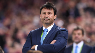 New coach, same result for Laurie Daley and the Blues.