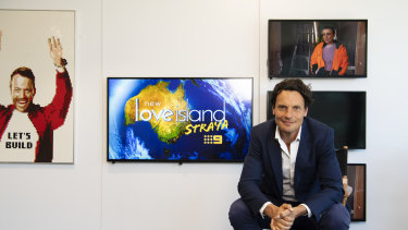Nine's new director of programming and 9Now, Hamish Turner.