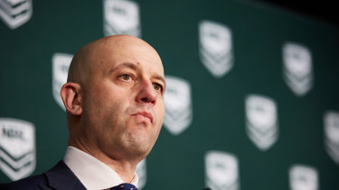 Under pressure: Some Roosters fans and members have lobbied NRL CEO Tod Greenberg to stand down the player.