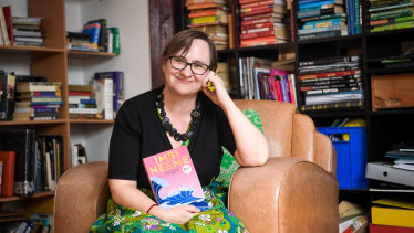 Melbourne author Imbi Neeme, whose first novel, The Spill, won the Penguin Literary Prize.