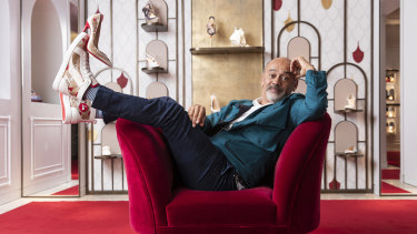 Christian Louboutin: 'My first inspiration is women, I will probably always remain the same.'