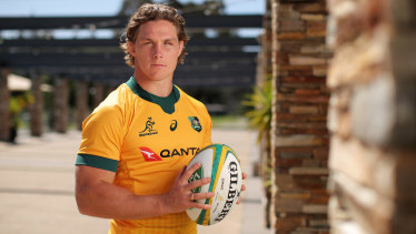 Michael Hooper, who has been appointed Wallabies skipper.