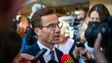 UlfKristersson, leader of Sweden's Moderate Party, has until Tuesday to tell Parliament Speaker Andreas Norlen that he's in a position to be Sweden's next prime minister.