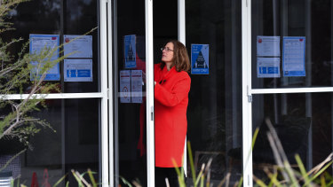 Bentleigh Secondary College principal Helen Hiotis says covid-precautions are now standard at schools.