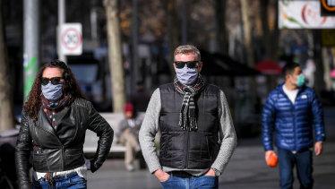 Masks have been mandatory in Melbourne since July 22.