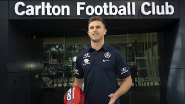 Marc Murphy confirmed he will stay at Carlton on Monday.