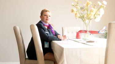 Virgin Australia flight attendant Natasha Pawlak.
