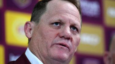 Deadline: Queensland coach Kevin Walters.