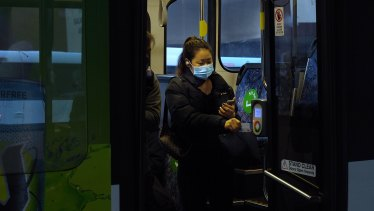 Mandatory masks on public transport could encourage more people back to the city.