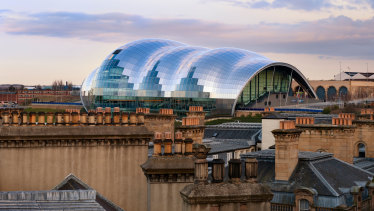 The Sage Gateshead is a centre for music education as well as a concert hall.