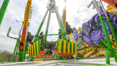 The Beast ride at Royal Melbourne was blocked from running in South Australia.