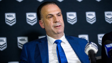 Peter V'landys has outlined his vision for the game, and has already instilled fear in the ranks of the NRL.