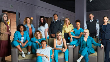 The cast of Wentworth season 8.