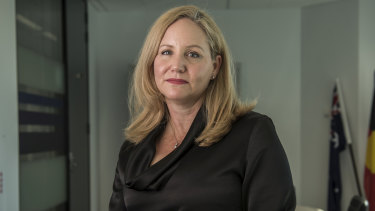 Nicole Rose, chief executive of Austrac.