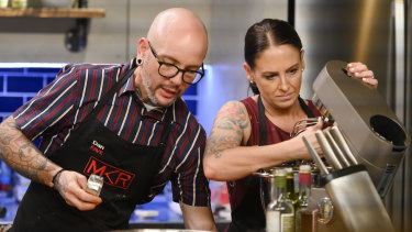 Audience favourites Dan and Steph in the latest season of MKR.