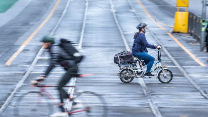 Riding a bike is sweet freedom, even if it might kill me