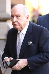 Alan Jones criticised rugby referee Amy Perrett.