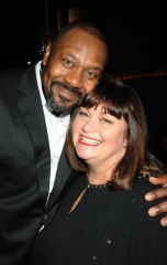 Lenny Henry and Dawn French in 2009.