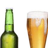 Hopping mad: Some English pubs have started to run short of lager.