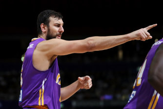 Andrew Bogut led the Kings to the NBL semi-finals and was named league MVP in his first campaign back in Australia.