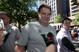 John Setka is in a damaging internal dispute with the national head of the CFMMEU.