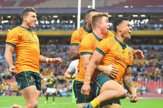 This column wants to see the Wallabies do it against the All Blacks before getting too excited.