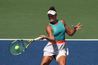 Jennifer Brady has not dropped a set at this year's US Open.