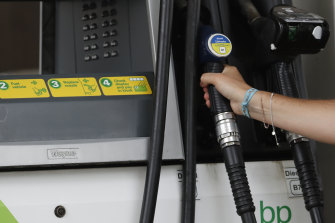 The truck driver visited several BP stations.