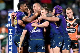 A home grand final would be a fitting reward for the wildly successful Melbourne Storm.