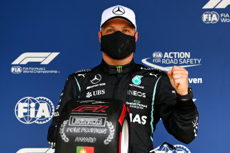 Valtteri Bottas took pole position by 0.007 of a second.