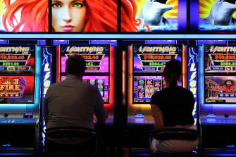 Poker machines are used to launder money in NSW but distinguishing gamblers from money launderers is difficult.