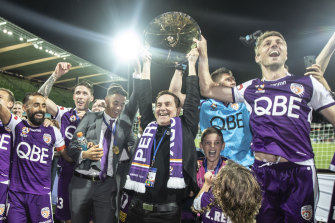 Perth Glory chairman Tony Sage was the first A-League owner to stand down their squad amid the coronavirus crisis.
