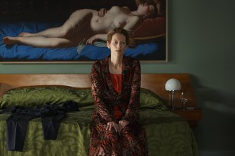 Tilda Swinton in Pedro Almodovar's The Human Voice, aslo showing at this year's MIFF.