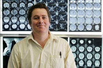 Dr John Lawson ran a cannabis trial last year.