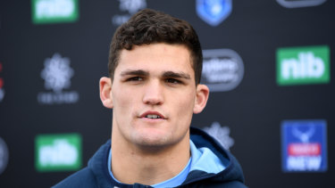 Comeback: Nathan Cleary will return from injury to help Penrith chase a seventh straight win.