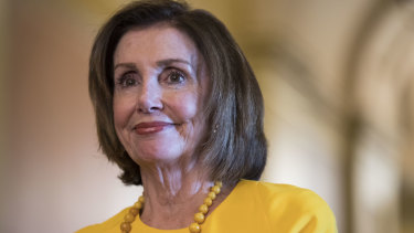 US House Speaker Nancy Pelosi.