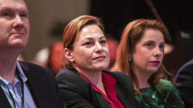 Deputy Premier Jackie Trad has had responsibility for Cross River Rail taken off her in the wake of a corruption investigation