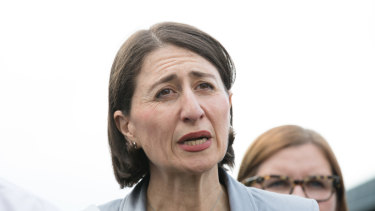 Premier Gladys Berejiklian made the call to build a new, fully-selective school in Sydney.