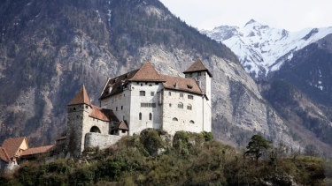 The Principality of Liechtenstein is the smallest German-speaking country in the world.