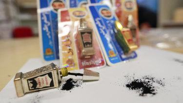NSW Health haswarned people to cease using theHashmi Surmi Special and Hashmi Kohl Aswad eyeliners immediately.