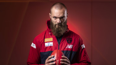 Growing confidence: Max Gawn says the Demons have belief.
