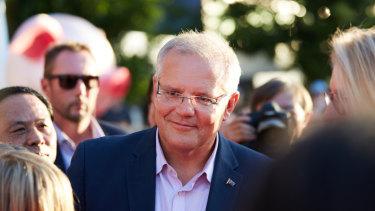 Prime Minister Scott Morrison in Melbourne.